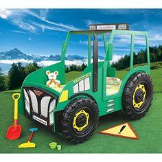 Kinderbett junge traktor  Traktor Trecker Bett Kinderbett DIY | zeigherdeinkinderzimmer ...