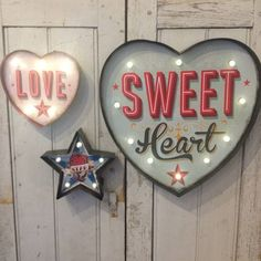 Carnival Light Up Signs