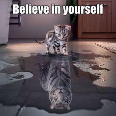 Succes vandaag allemaal! Denk groot! #gogogo