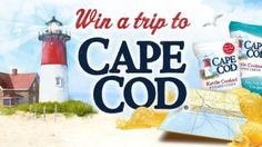 Enter Snyder's-Lance's Cape Cod Escape Sweepstakes on Facebook and you could win a $10,000 trip to Cape Cod, Massachusetts or weekly prizes of a year's supply of potato chips.