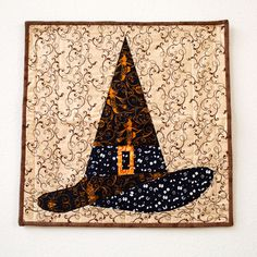 Halloween Witch Hat Wall Hanging