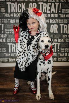 cruella deville dalmatian 2015 halloween costume contest via costume_works - Cruella Deville Halloween Costume Ideas