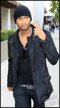 Usher Style- love all black gear