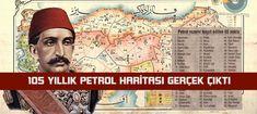 105 yıllık Harita ortaya çıktı.