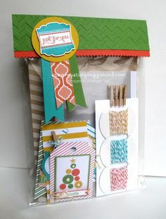 Pretty packaging has never been easier with these adorable tags and bags. Decorate treats, party favors and more for quick, fun gifts! www.mystampingground.com