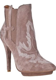 Jeffrey Campbell - Real Ankle Boot Taupe Suede  $99.00 onsale from $210.00