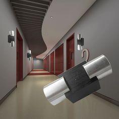 Modern Up And Down LED Wall Light Bedside Light Effect Spotlightt
