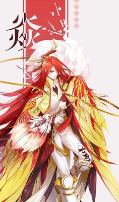 七色 Korean Art, Asian Art, Anime Love, Anime Guys, Chinese Artwork, Chinese Characters, Fantasy Girl, Chinese Style, Art Girl