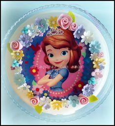 Do Açúcar Com Amor - Sophia the First Cake