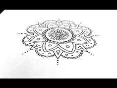 Learn to Draw a Mandala! My New Follow-Along Tutorial for the Very Beginner. | Always Choose the Window Seat
