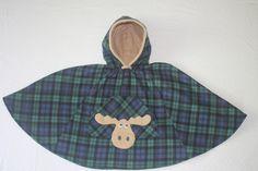 Moose Green & Blue Buffalo Check Car Seat Coat Toddler | Etsy Car Seat Coat, Car Seat Poncho, Car Seats, Warm In The Winter, Warm And Cozy, Toddler Poncho, Fleece Poncho, Child Face, Sleep Sacks