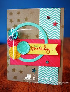 Rita's Creations: Stampin' Up! Endless Birthday Wishes