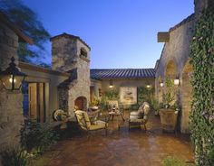 exciting dc ranch residence hallway interior design idea scottsdale az | Mediterranean Tuscan Home Exterior (El Dorado CA ...