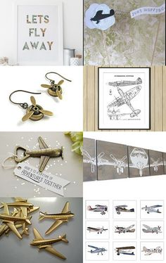 Let's Fly Away by Susan Fischer on Etsy--Pinned with TreasuryPin.com