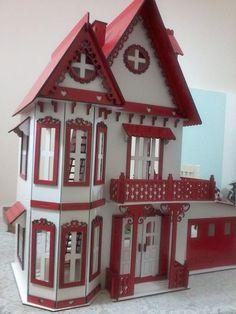 Casa Casinha De Boneca Polly Pocket Edição Especial De Natal - R$ 289,90 no MercadoLivre