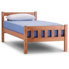 Single Bed Frame - Solid Pine Jaye Single 3ft - New Wooden Bedroom Furniture