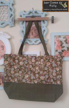 Tote bag reversible Japanese Fabric