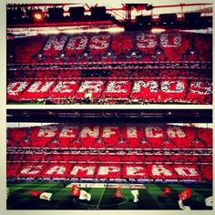 "Benfica Supporters (home) ""We only want Benfica Champion"" Benfica Wallpaper, We Are The Champions, Sports Clubs, Coat Of Arms, Football Soccer, Design Art, Art Photography, Instagram, Passion"