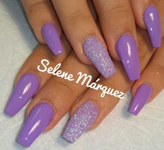74 gorgeous pastel lavender with glitter nail art designs for 2019 page 00002 Incoming search terms:silver and Lavender Nails Teal Acrylic Nails, Purple Glitter Nails, Lilac Nails, Purple Nail Art, Glitter Accent Nails, Lavender Nails, Acrylic Nails Coffin Short, Summer Acrylic Nails, Gel Nails