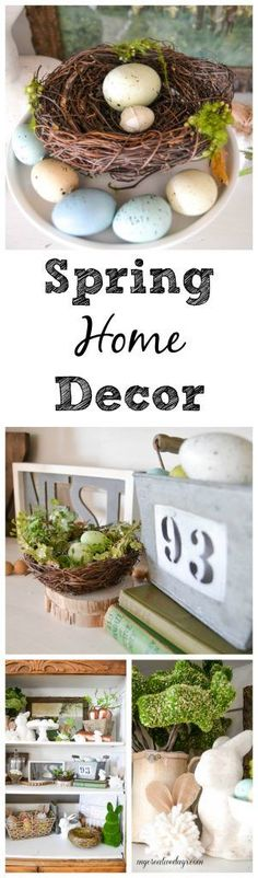Spring Home Decor -