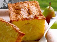 Avec les lectrices reporter de Femme Actuelle, découvrez les recettes de cuisine des internautes : Cake de Sophie aux poires