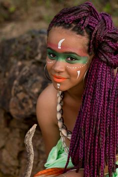 Nzingalumbondo Angola TRIBAL AFRICANO make BÁRBARA FIÚZA