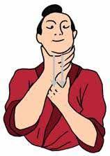 masajear el cuello desde arriba hacia abajo, mejora la fluencia de qi en Ren Mai y meridianos principales, moviliza el qi del pulmón