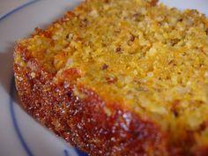 gateau carotte, poudre d'amande et poudre de noisette...