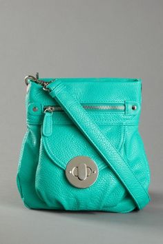 Turquoise Crossbody Bag. I don't believe I own anything in this color so that needs to change
