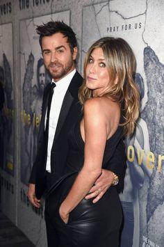 Jennifer Aniston hace furor con un vestido apretado de cuero y sin Photoshop - Los Andes Diario