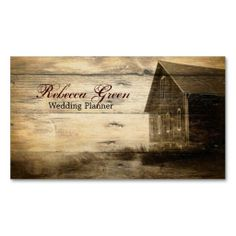 rustic woodgrain western farmhouse country fashion business card template. This great business card design is available for customization. All text style, colors, sizes can be modified to fit your needs. Just click the image to learn more!