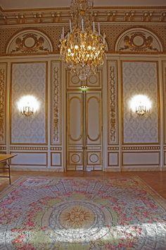 Salon du pavillon de musique, Louveciennes
