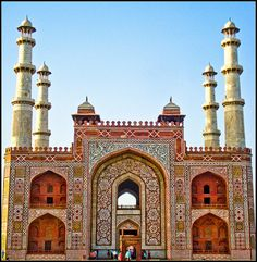 Tomb of Akbar the Great - an important Mughal architectural masterpiece; built set in Sikandra, a suburb of Agra, Uttar Pradesh Goa India, North India, India And Pakistan, India Tour, Delhi India, Rishikesh, Varanasi, Angkor, Places To Travel