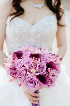 Photography: Gladys Jem / Brides Dress: Lazaro / Brides Shoes: Manolo Blahnik / Floral Design: Poppys Petalworks