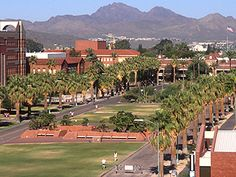 Visiting the University of Arizona campus