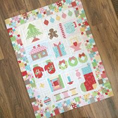 Bee in my bonnet Christmas quilt along!