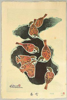Shiro Kasamatsu 1898-1992 - Spring Snow