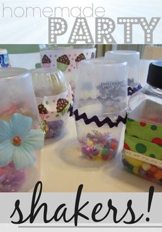 easy, homemade new year's eve shakers | kidcrafts newyears