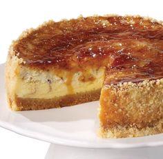 Creme Brûlée Cheesecake http://homestylewithasideofgourmet.blogspot.com/2012/04/creme-brulee-cheesecake.html?m=1