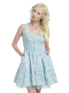 Disney Alice Through The Looking Glass Alice Tea Party Dress Pre-Order | Hot Topic
