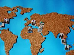 Für alle die gerne Reisen, habe ich heute ein schönes DIY. Wie wäre es mit einer Weltkarte aus Kork? Mit dieser individuellen Pinnwand hast...