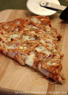 Barbeque Chicken Pizza : Tastes Better From Scratch