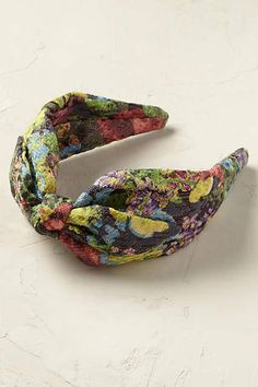 Midnight Blossoms Turban Headband - anthropologie.eu