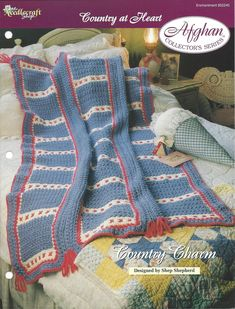 Country Charm Afghan Collector's Series by KnitKnacksCreations