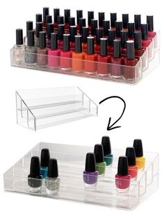 #10. Nail Polish Organizer -- 55 Genius Storage Inventions That Will Simplify Your Life