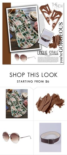 """""""The new chic"""" by melodibrown ❤ liked on Polyvore featuring Bobbi Brown Cosmetics and zaful"""