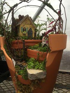 Sister fairies in the garden by Kristin Middleton