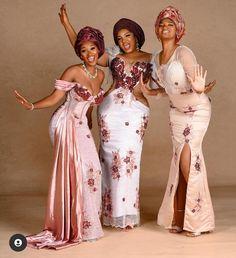 Gorgeous Prom Dresses, Glam Dresses, Nice Dresses, Fashion Dresses, Dinner Dresses, Ankara Fashion, Nigerian Lace Styles, African Lace Styles, African Inspired Fashion