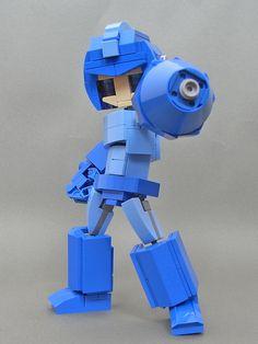 Lego Bots, Lego Design, Lego Instructions, Mega Man, Lego Creations, Legos, Minions, Miniatures, Lego Stuff