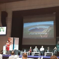 CEO of Climate-KIC Kirsten Dunlop speaking at the 'Designing Climate Ecosystems Conference' in Nicosia Cyprus. ________________________________________ #ClimateKIC #EITeu #cyprusuniversityoftechnology #cyprus Nicosia Cyprus, Conference, Green, Design
